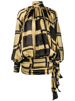 Zimmermann платье Resistance с рукавами 'летучая мышь' 7028DRES