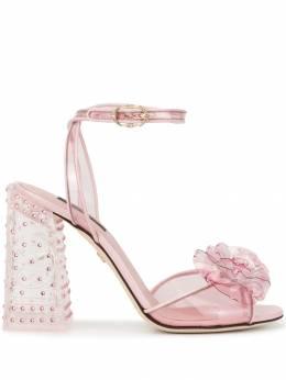 Dolce&Gabbana декорированные босоножки Keira CR0736AZ583