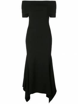 Solace London трикотажное платье миди Savina OS24014