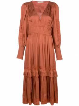 Ulla Johnson платье Shaina с цветочной вышивкой FA190108
