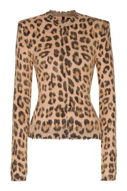 Джемпер с леопардовым рисунком Unravel Project 2852151887