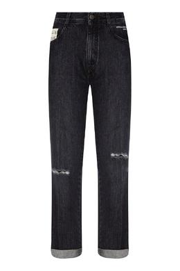 Черные джинсы с прорезями Stella McCartney 193152712