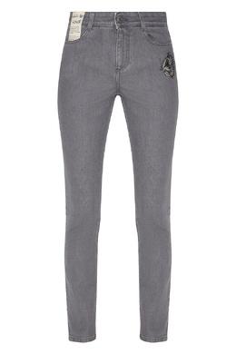 Серые джинсы с нашивками Stella McCartney 193152716