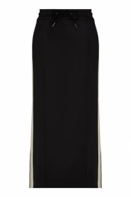 Черная юбка с лампасами Palm Angels 1864151942