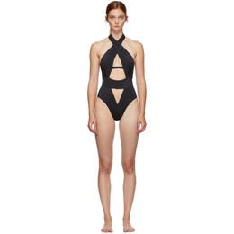 Agent Provocateur Black Anja One-Piece Swimsuit 109325