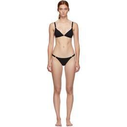 Agent Provocateur Black Malisa Triangle Bikini 108802-108804