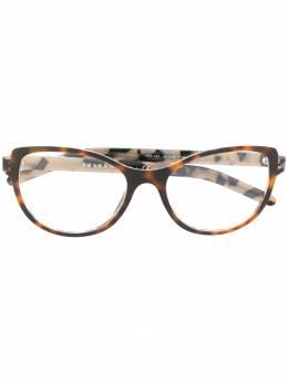 Prada Eyewear очки в оправе черепаховой расцветки VPR12V
