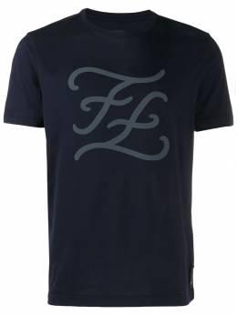 Fendi футболка с логотипом FY0894A9ME