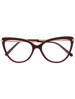 Dolce&Gabbana Eyewear очки в оправе 'кошачий глаз' DG3295