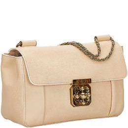 Chloe Pink Leather Elsie Chain Shoulder Bag 225730