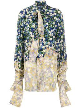 Rokh рубашка с цветочным принтом R0CA67CDC
