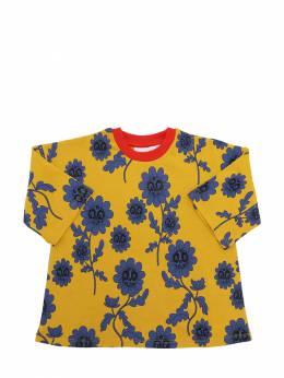 Платье Из Органического Хлопка Mini Rodini 70I8YH007-WUVMTE9X0