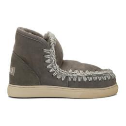 Mou Grey Mini Sneaker Boots MU.FW111000A