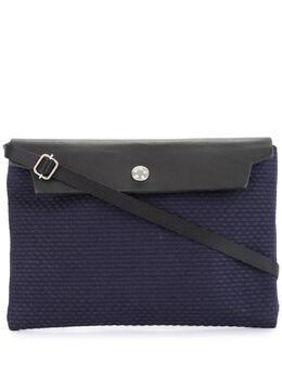 Cabas маленькая сумка с контрастным откидным клапаном N59