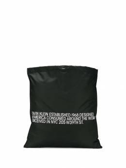 Calvin Klein 205W39nyc сумка-тоут со слоганом 83MLBA28P065P