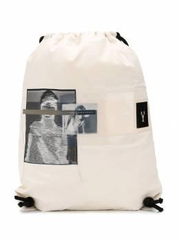 Rick Owens DRKSHDW рюкзак с фотопринтом DU19S4404CREP10