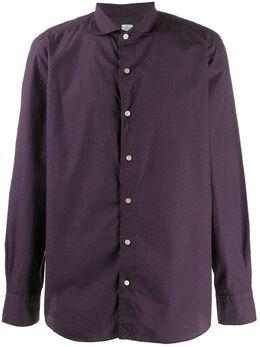Finamore 1925 Napoli рубашка с узором TOKYO280077A9053