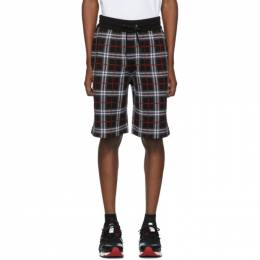 Burberry Black Check Flynn Shorts 8021342