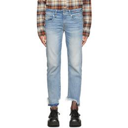 R13 Blue Boy Straight Jeans R13W0991-959
