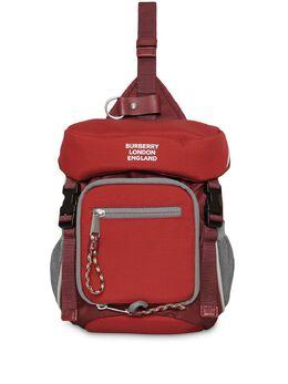 Burberry поясная сумка Leo с принтом логотипа 8013526