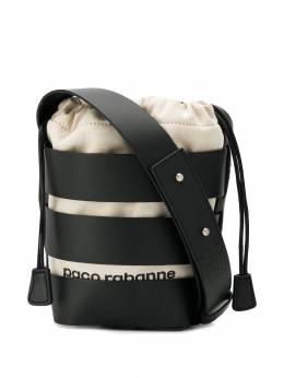 Paco Rabanne сумка ведро с ремнями 19PSS0010BUL001