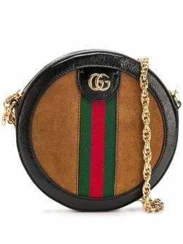 Gucci круглая мини-сумка на плечо 'Ophidia' 550618D6ZYB
