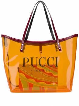 Emilio Pucci сумка-тоут с логотипом 9RBC539R080