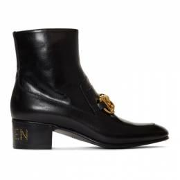 Gucci Black Ebal Ankle Boots 592519D3V00