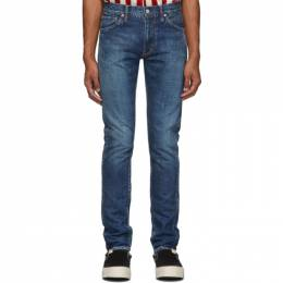 Visvim Blue Social Sculpture 12 Damaged 5 Jeans 0119205005016