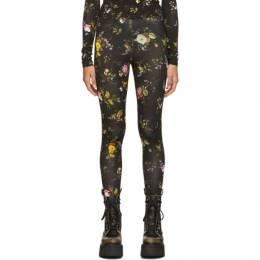 R13 Black Floral Leggings R13W3172-01