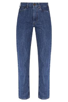 Синие джинсы из денима Miu Miu 375152950