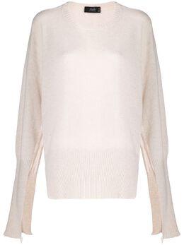 Maison Flaneur cashmere open sleeves jumper 19WMDSW301FK014