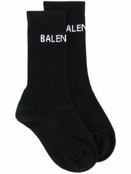 Balenciaga трикотажные носки с логотипом 521232372B4