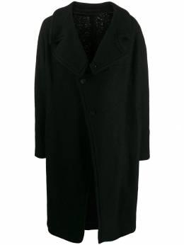 Julius пальто со смещенной застежкой 677C0M1