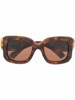 Balenciaga Eyewear солнцезащитные очки Paris в D-образной оправе 595314T0001