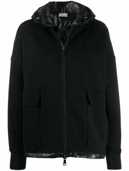 Moncler двухслойная куртка на молнии 8462200V8076
