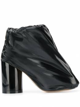 Mm6 Maison Margiela covered patent-leather boots S66WU0006P3024