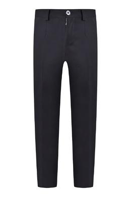 Классические черные брюки на мальчика Dolce&Gabbana 599153257