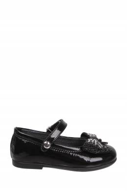 Черные лаковые туфли с бантом Missouri Kids 2664153529