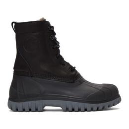 Diemme Black Anatra Boots DI1609AN02W