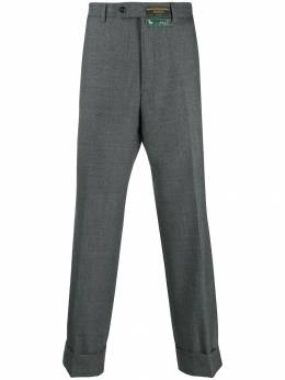 Gucci строгие брюки широкого кроя 595494ZACFM