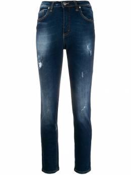 John Richmond джинсы с эффектом потертости RWA19354JE