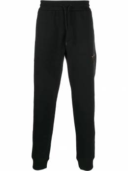 Emporio Armani спортивные брюки с вышивкой 6G1P921JQPZ