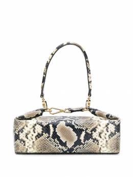 Rejina Pyo каркасная сумка Olivia со змеиным принтом B26OLIVIABAG
