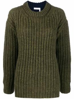 See By Chloe chunk knit jumper CHS19WMP20560