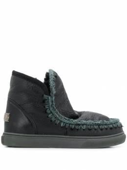 Mou ботинки с вязаными вставками SNEAKER