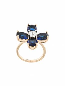 Tory Burch кольцо Buddy Clover 60343