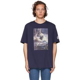 Etro Blue Star Wars Edition Yoda T-Shirt 1Y820 9053