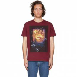 Etro Red Star Wars Edition Poster T-Shirt 1Y020 9054