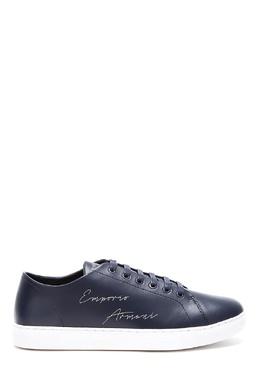 Черные кеды с логотипом Emporio Armani 2706153796